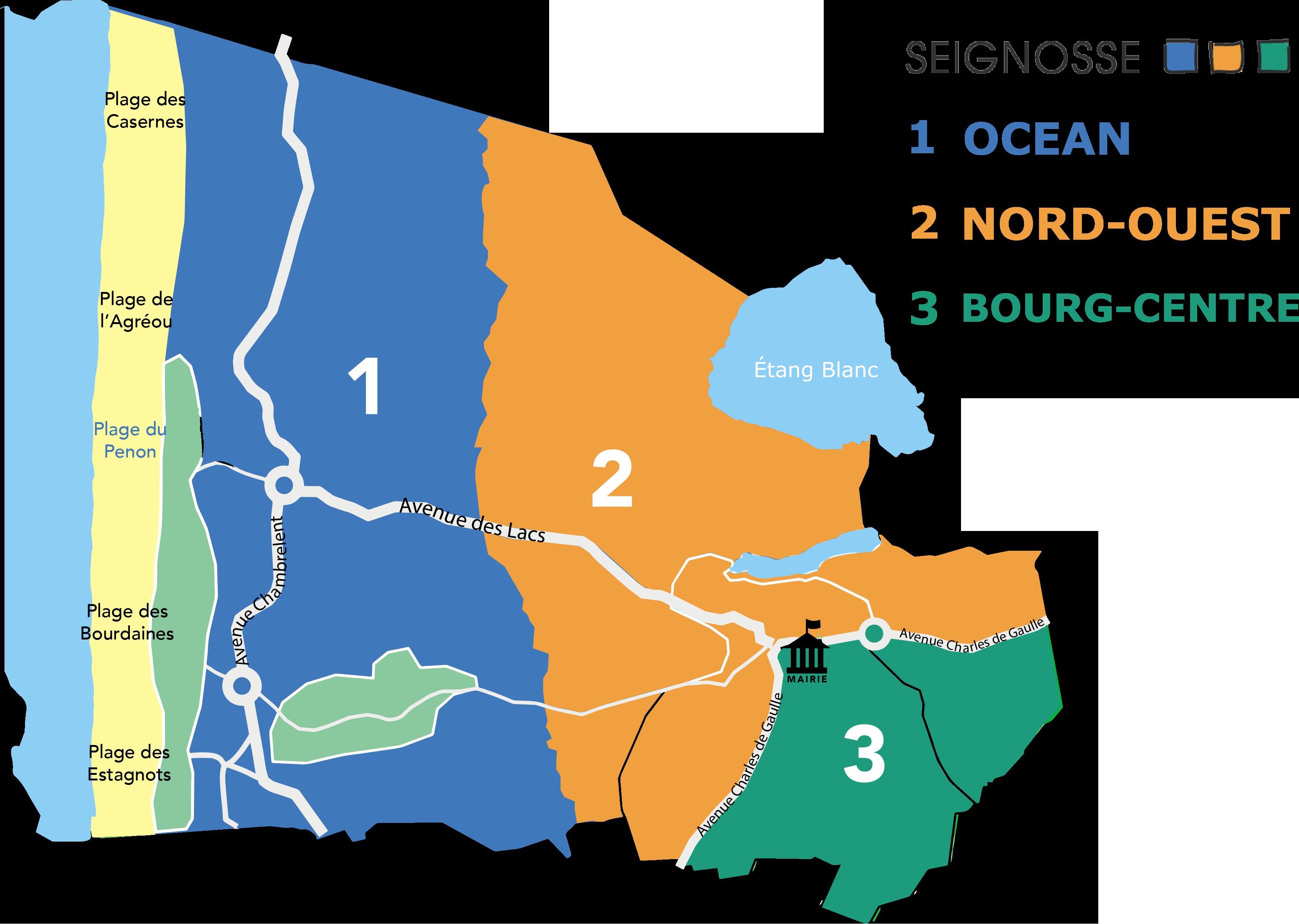 Réunion de quartier Seignosse Nord-Ouest CARTEFINALE 1 Réunions de quartiers Seignosse Réunions de quartiers CARTEFINALE 1