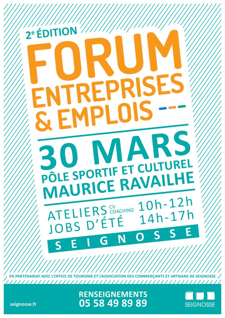 forum entreprises et emplois seignosse Forum Entreprises & Emplois 2019 aff forum emploi