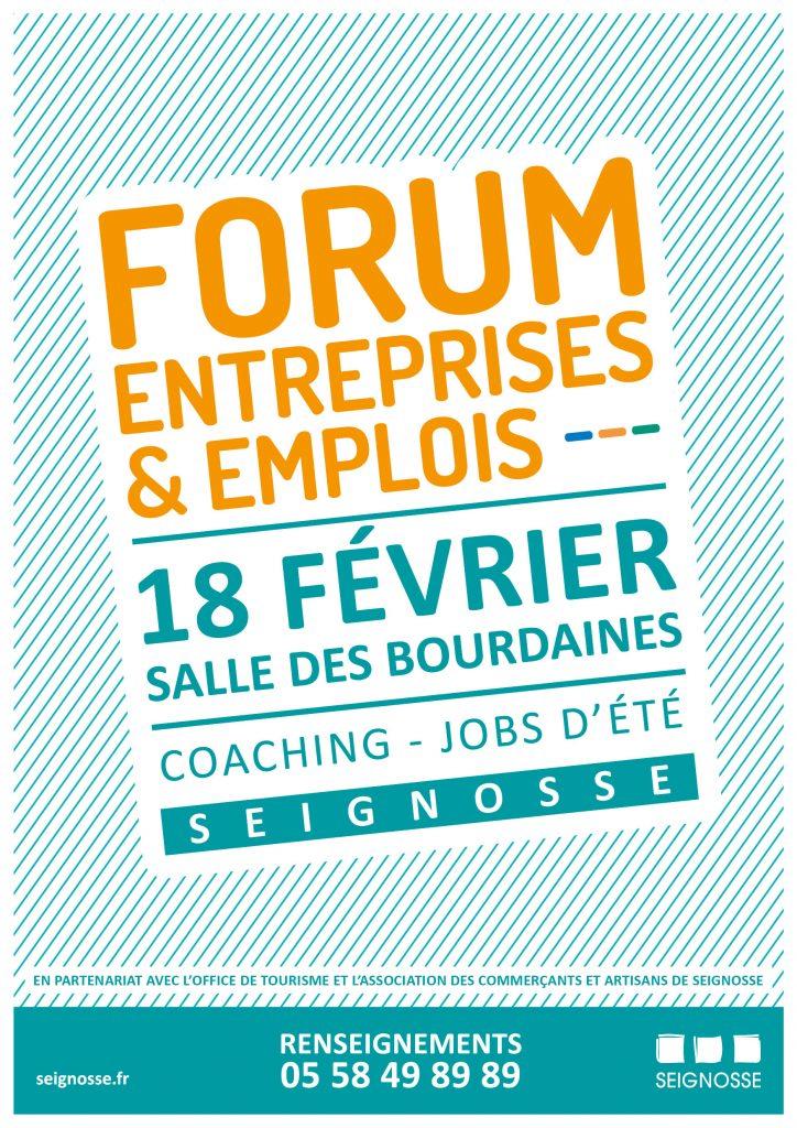 forum entreprises et emplois Seignosse Forum Entreprises & Emplois aff forum entreprises emplois web