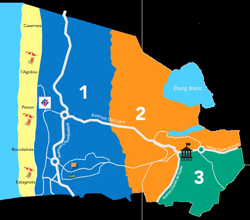 réunions de quartiers seignosse Réunions de quartiers automne carte reunions quartier
