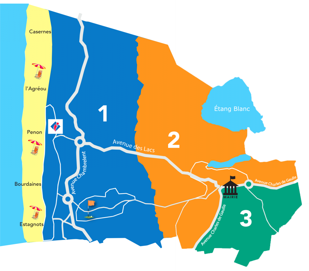 réunion de quartier seignosse océan Réunion de quartier Seignosse Océan carte reunions quartier