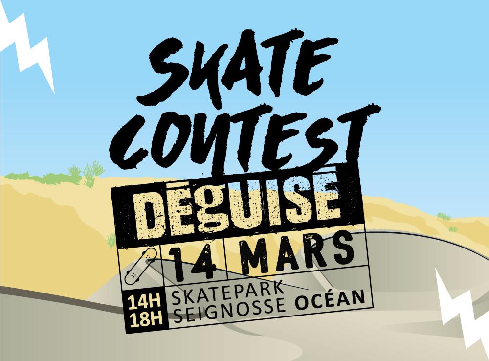 skate contest déguisé Skate contest déguisé - reporté seignosse skate contest ot