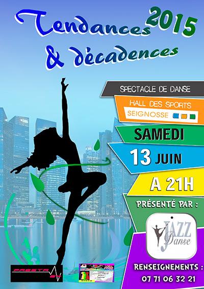danse-affiche  Spectacle de danse Tendances & Décadences danse affiche
