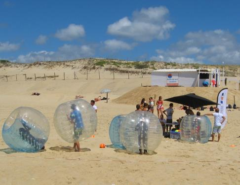 Bubble Foot Bubble Foot 2015 Seignosse Tourisme