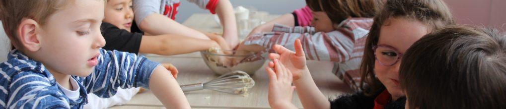 Atelier petits chefs : fabrication de pizzas