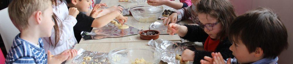 Atelier petits chefs : fabrication de cookies