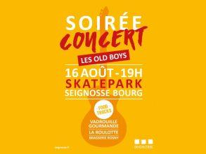 Soirée concert – Les Old Boys
