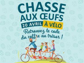 Chasse aux œufs à vélo