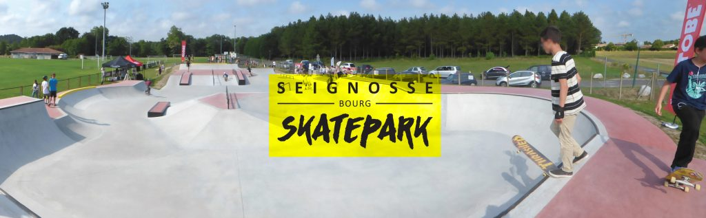 equipements sportifs Vie sportive skatepark seignosse bourg