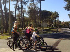 Course GPS à vélo
