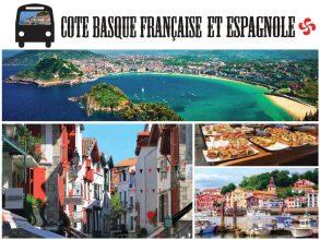 Journée sur la côte basque française et espagnole