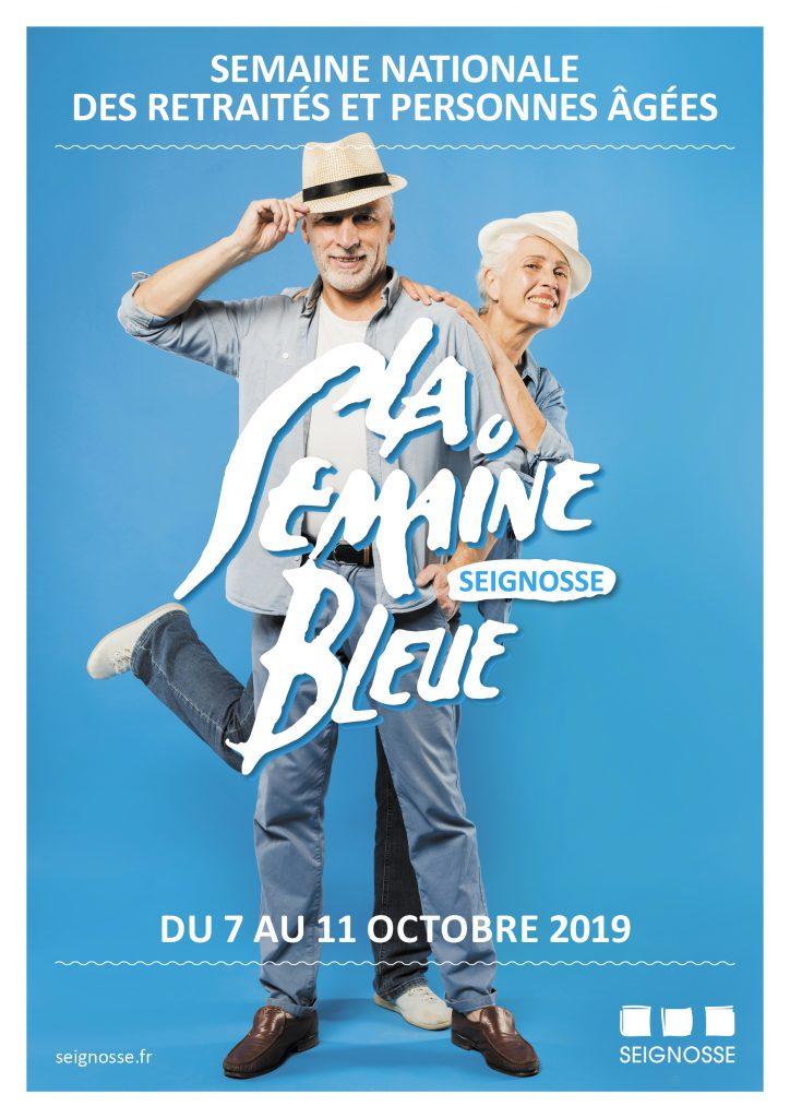 La semaine bleue à seignosse LA SEMAINE BLEUE semaine bleue aff a3 2019
