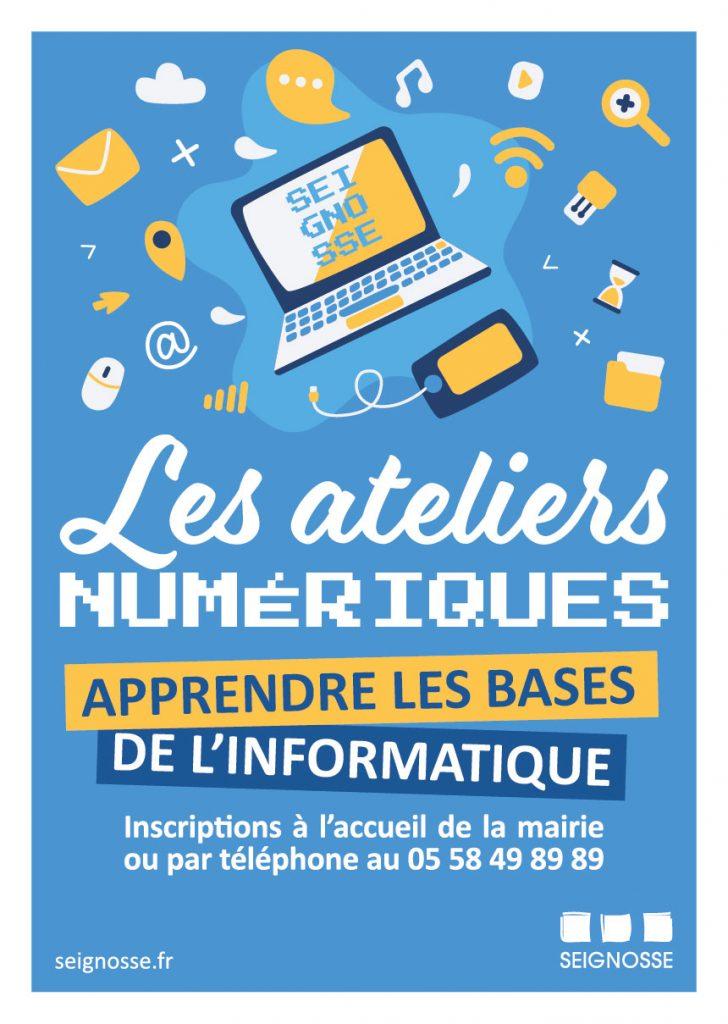 Les Ateliers numériques ATELIERS NUMERIQUES 06