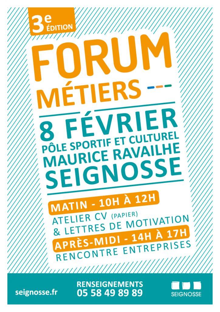 Forum métiers 2020 forum metiers seignosse 2020